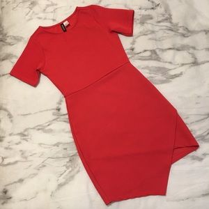 Divided Pink/Red Dress